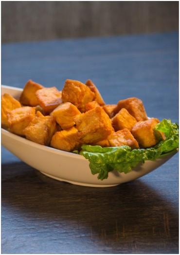 黄金鱼豆腐